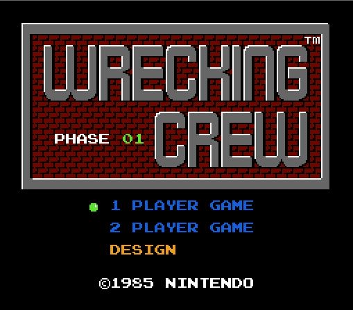 wrecking_crew_nes_title_screen