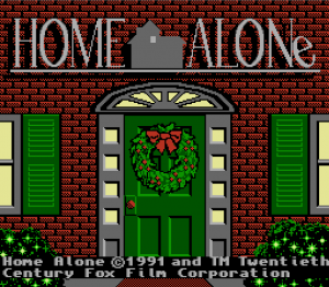 HO HO HOME ALONE!