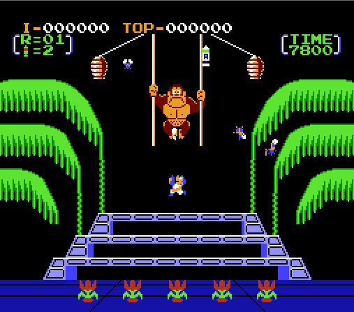 donkey_kong_3_gameplay_screenshot_1