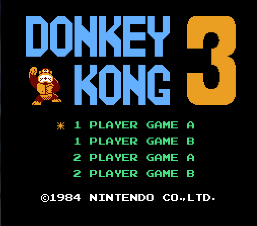 donkey_kong_3_title_screen_nes
