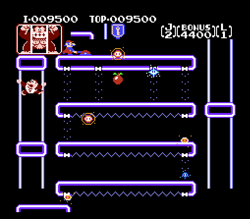 As others have noted, this level definitely has a hand in future Super Mario stage design.