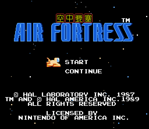 air_fortress_title_screen