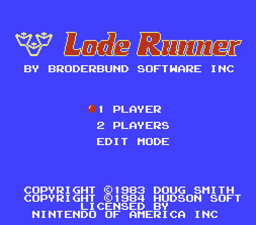 lode_runner_nes_title_screen