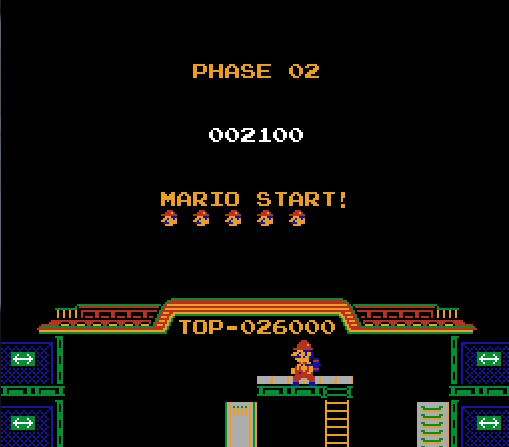 I love retro level-start transition screens. Classic.
